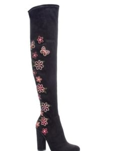 Chinese Laundry Briella Floral Print Boots